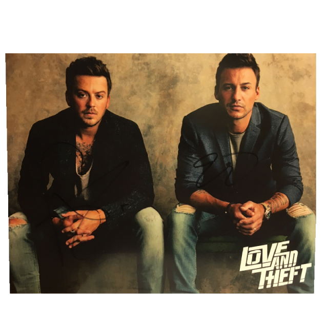Love and Theft AUTOGRAPHED 8x10